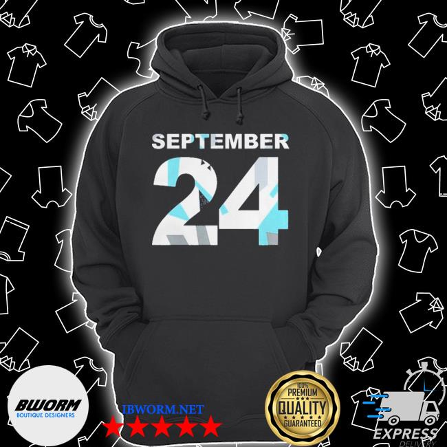 Buy nothing was the same 24 s Unisex Hoodie