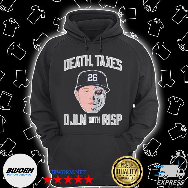 Death taxes djlm with risp 26 s Unisex Hoodie