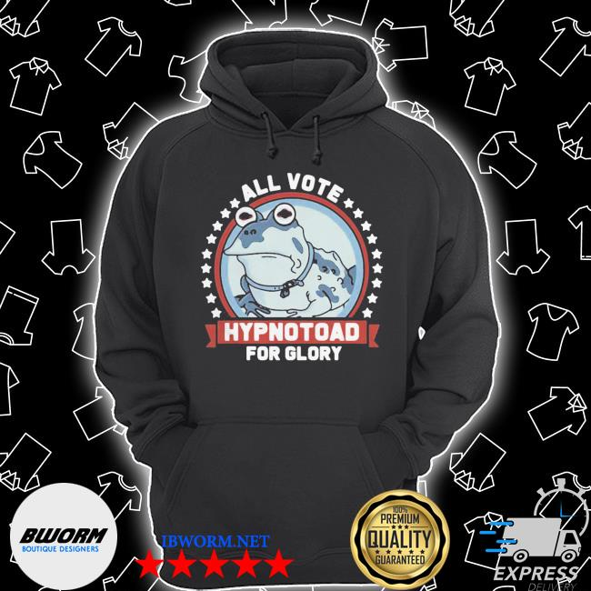 Frog all vote hypnotoad for glory 2020 s Unisex Hoodie