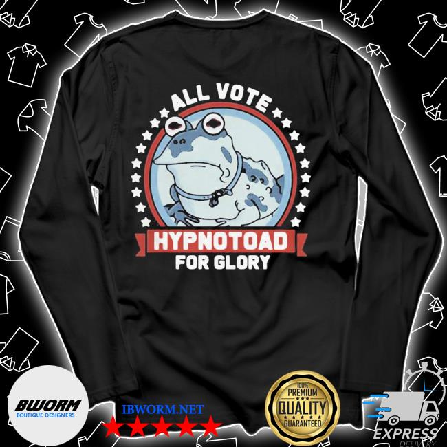 Frog all vote hypnotoad for glory 2020 s Unisex Long Sleeve Tee