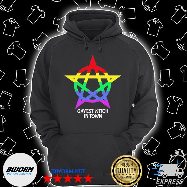 Gayest witch in town s Unisex Hoodie