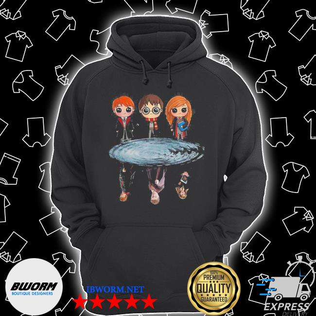 Harry potter ron weasley and hermione reflection water s Unisex Hoodie
