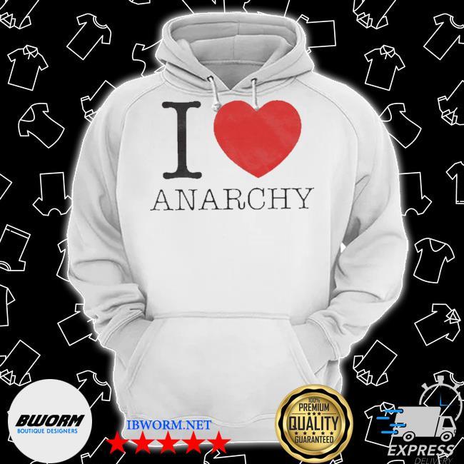 I love heart anarchy s Classic Hoodie