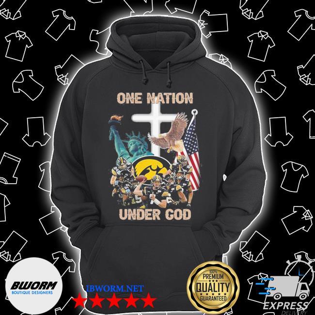 Iowa hawkeyes one nation under god s Unisex Hoodie