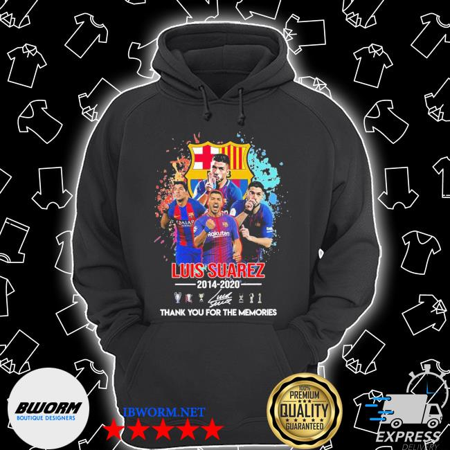 Luis Suarez 2014-2020 thank you for the memories signature s Unisex Hoodie