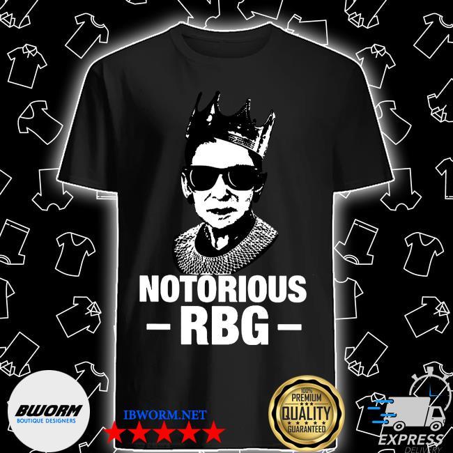Notorious RBG ruth bader ginsburg shirt white