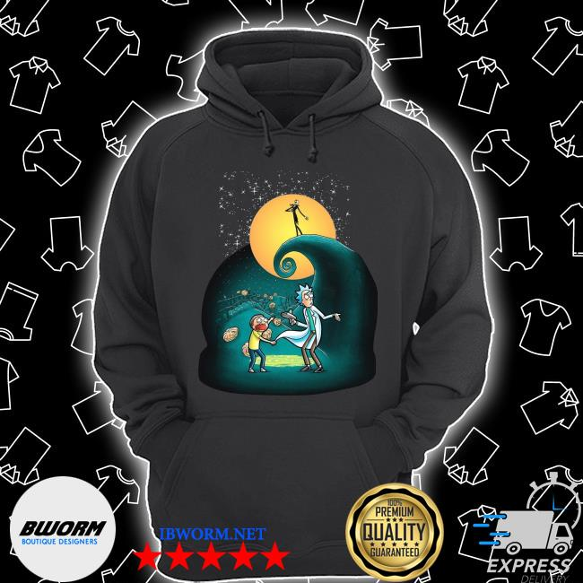 Official Rick and Morty Nightmare Before Christmas s Unisex Hoodie