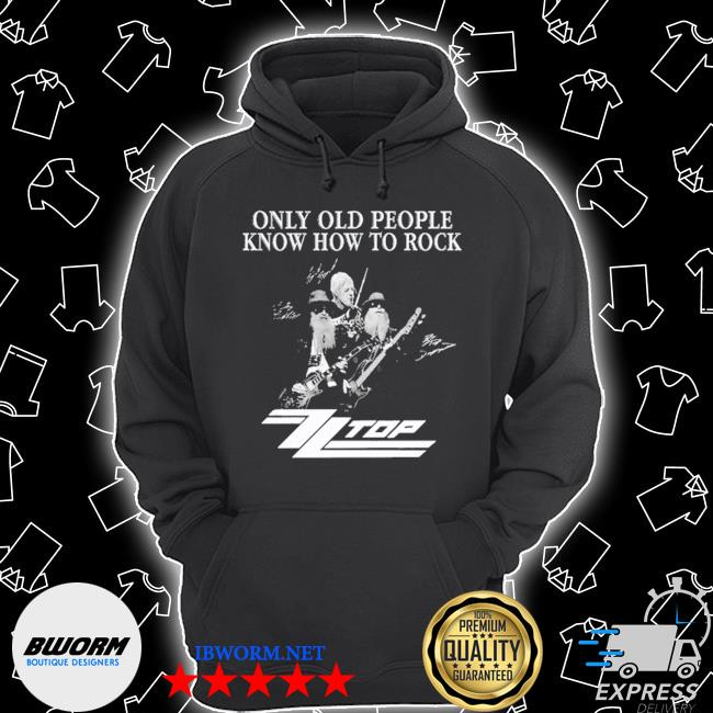 Only old people know how to rock signature s Unisex Hoodie