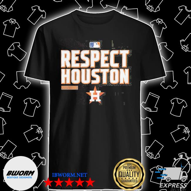 Respect houston shirt