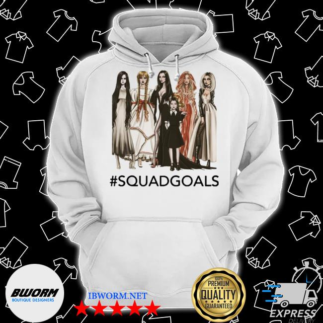 Squad goals samara, annabelle, morticia halloween s Classic Hoodie