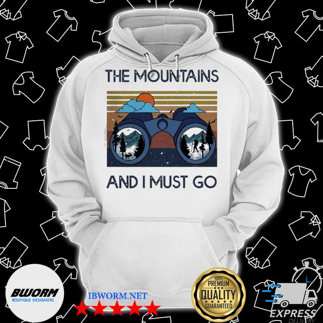 The mountains are calling and I must go vintage s Classic Hoodie