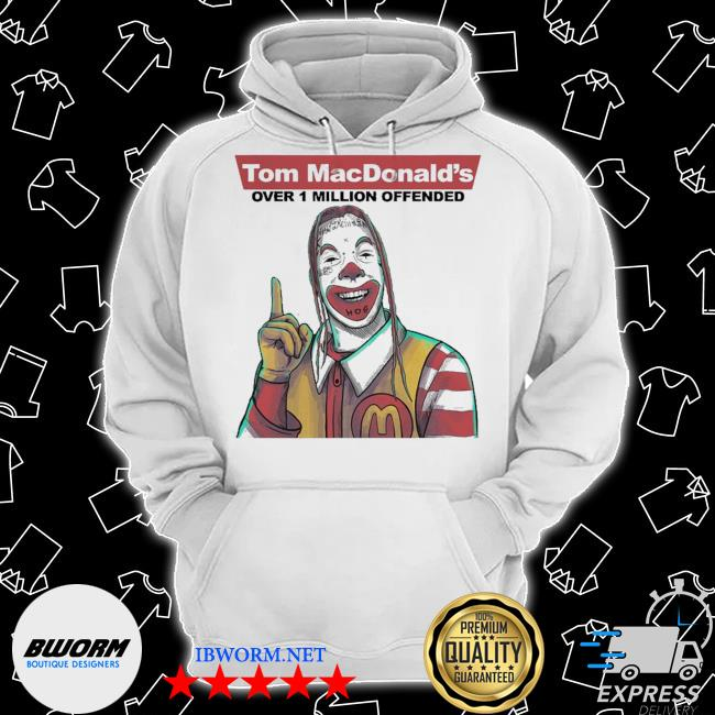 Tom macdonalds over 1 million offended s Classic Hoodie