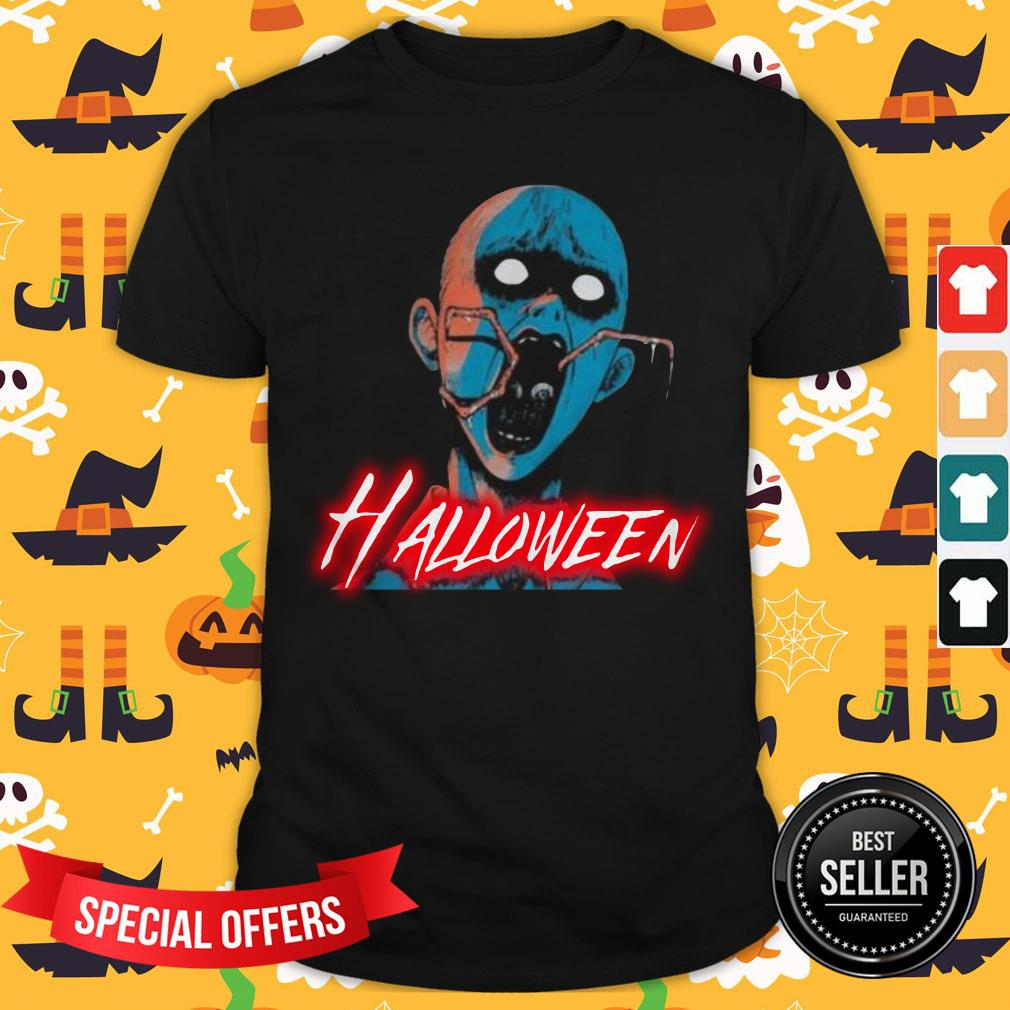 Top Halloween Japan Characters Cartoon Shirt