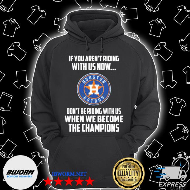 2020 mlb houston astros baseball we become the champions s Unisex Hoodie