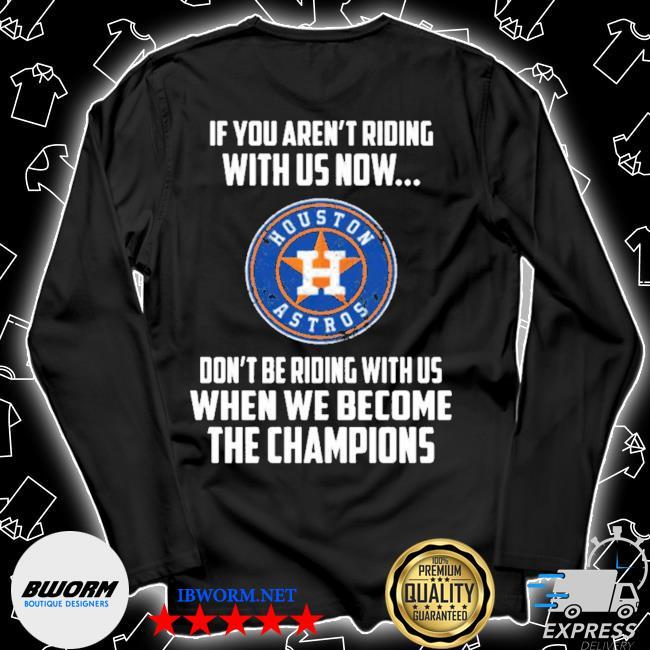 2020 mlb houston astros baseball we become the champions s Unisex Long Sleeve Tee