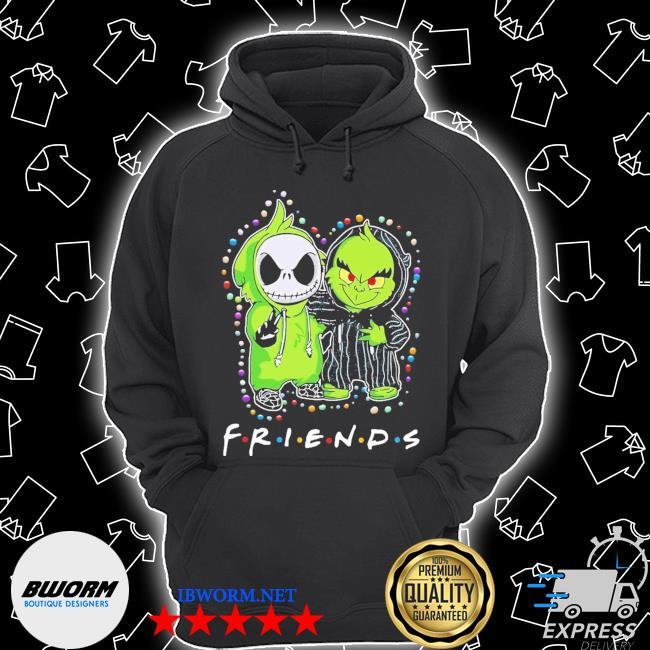Baby jack skeleton and baby green friends light christmas s Unisex Hoodie