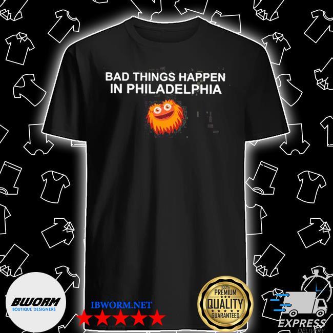 Bad things happen in philadelphia 2020 shirt
