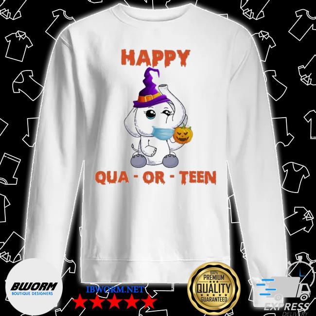 Elephant happy qua or teen Halloween s Unisex Sweater