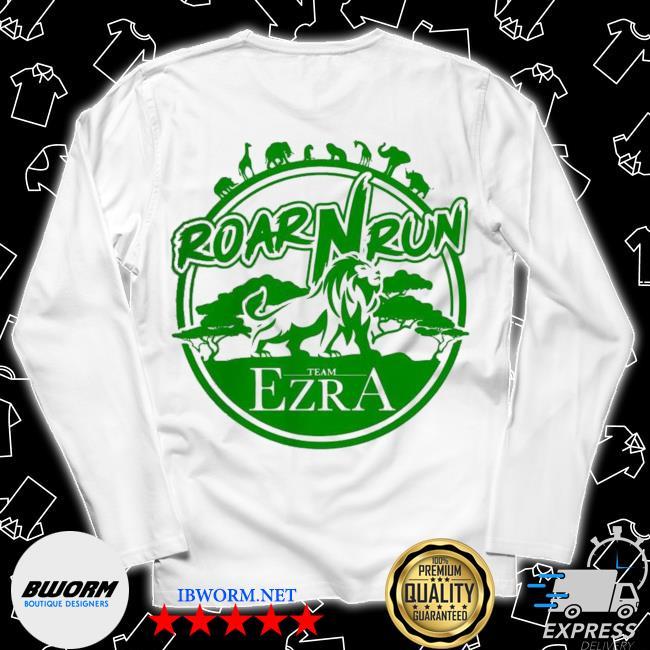 Hot roar run team ezra s Long Sleeve Tee