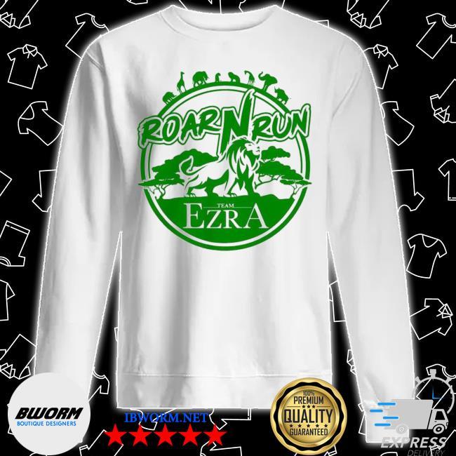 Hot roar run team ezra s Unisex Sweater