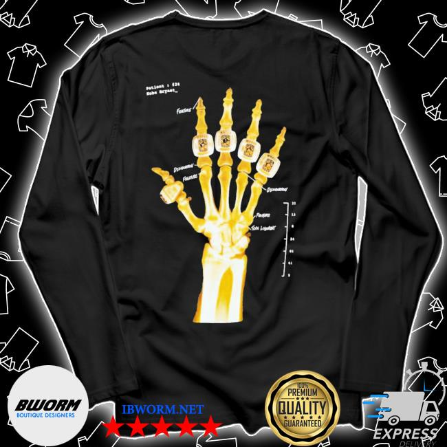 Kobe bryant hand gold rings x-ray s Unisex Long Sleeve Tee