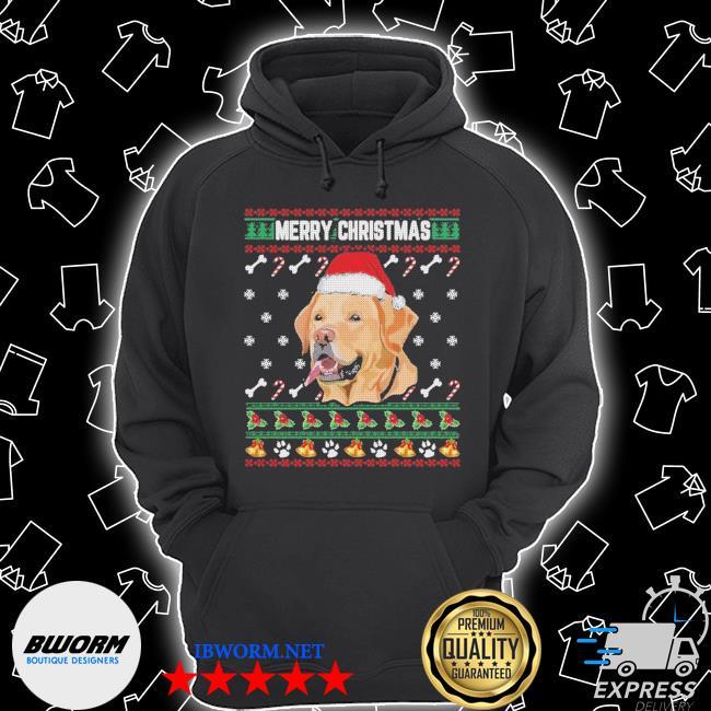 Labrador merry xmas ugly christmas s Unisex Hoodie