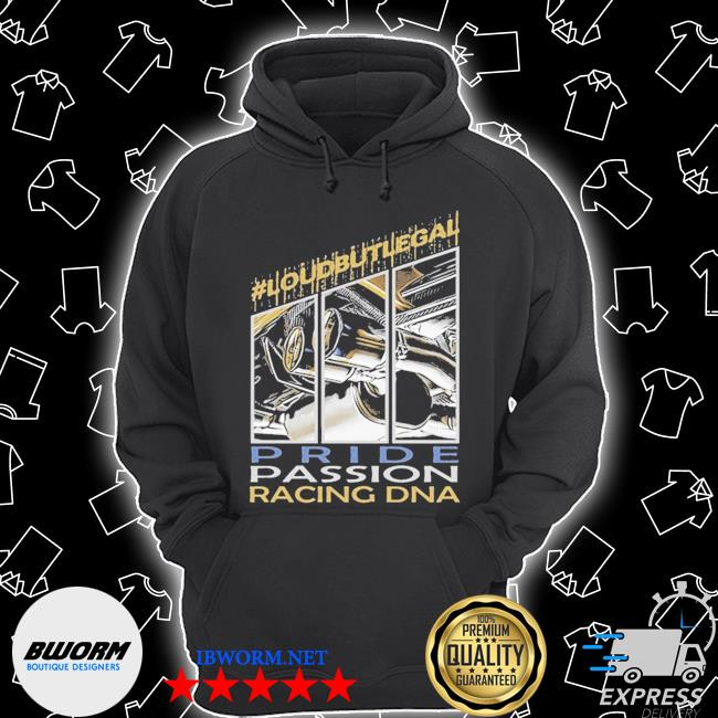 Loubutlegal pride passion racing dna s Unisex Hoodie