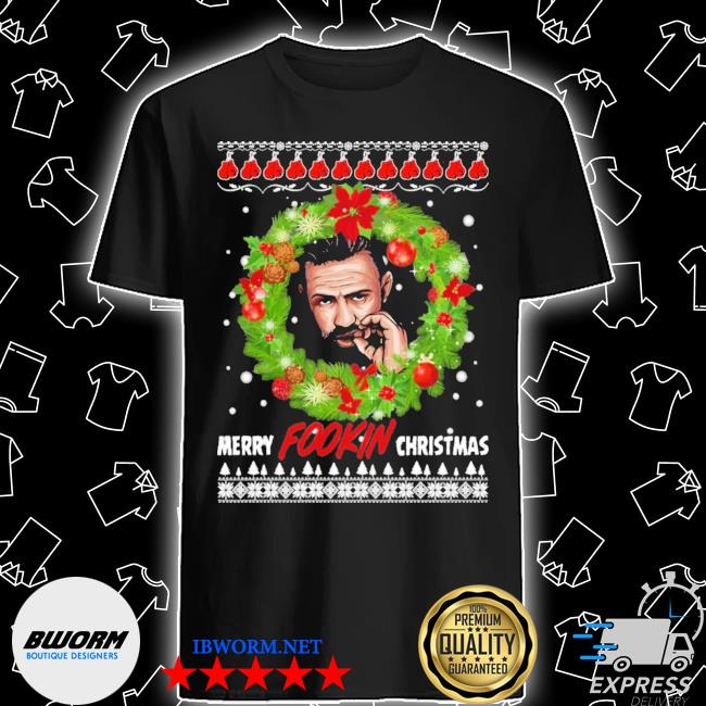 Mcgregor merry fookin christmas ugly christmas sweater