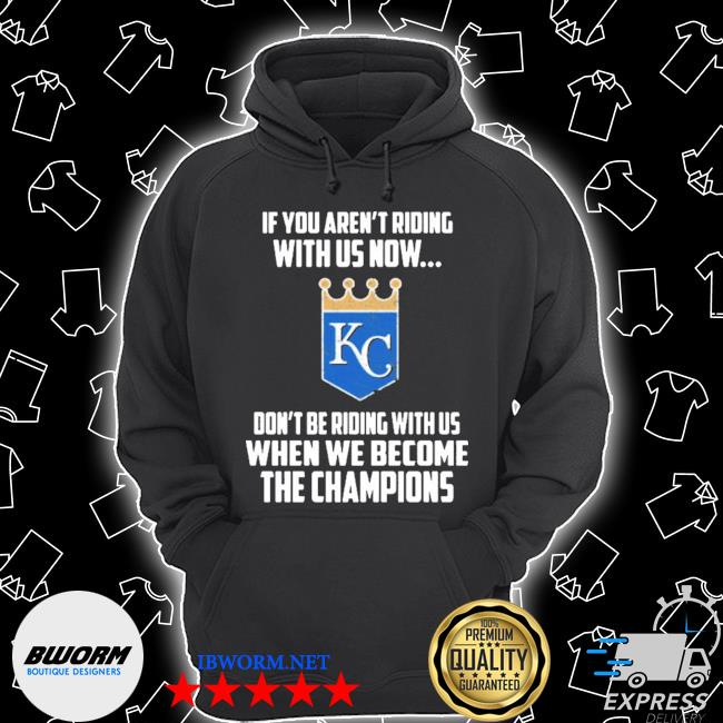 Mlb kansas city royals baseball we become the champions 2020 s Unisex Hoodie