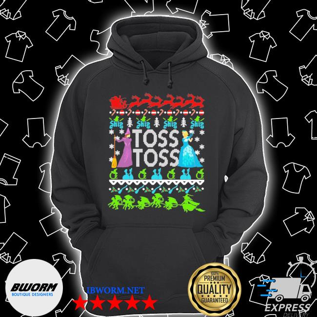 Princess witch toss toss christmas s Unisex Hoodie
