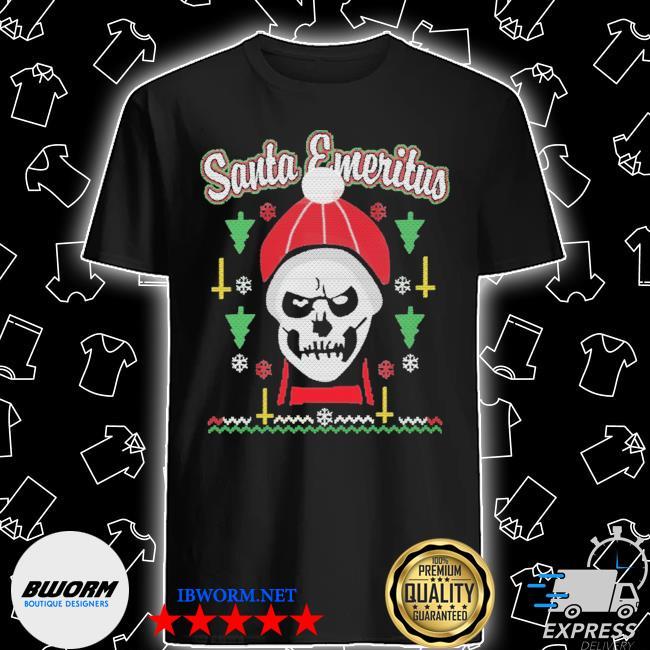 Santa emeritus christmas shirt