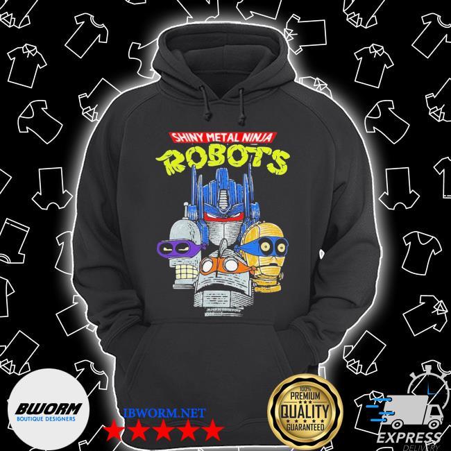 Shiny metal ninja robots s Unisex Hoodie
