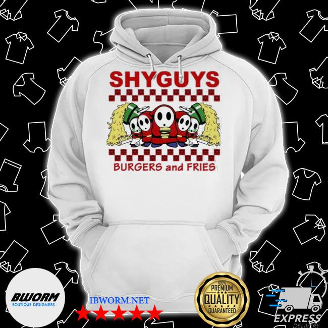 Shyguys burgers and fries s Classic Hoodie