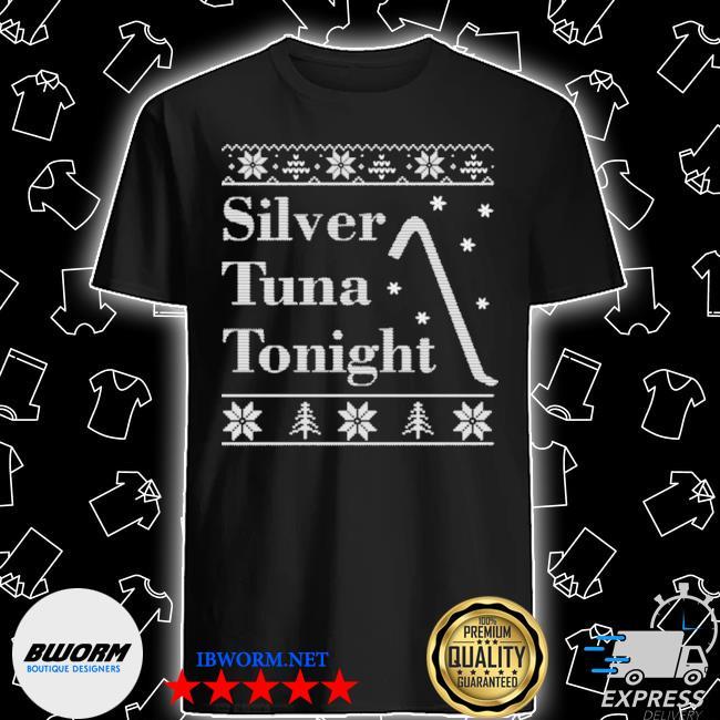 Silver tuna tonight ugly christmas shirt