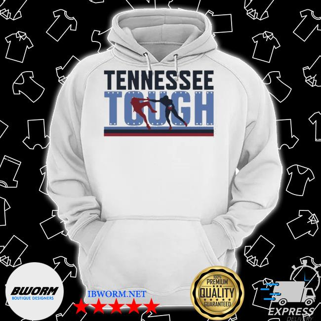 Tennessee tough nashville football s Classic Hoodie