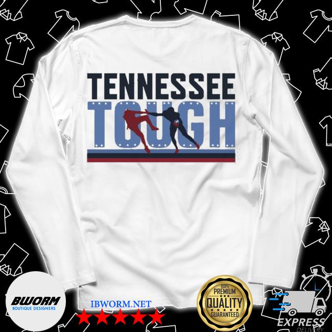 Tennessee tough nashville football s Long Sleeve Tee