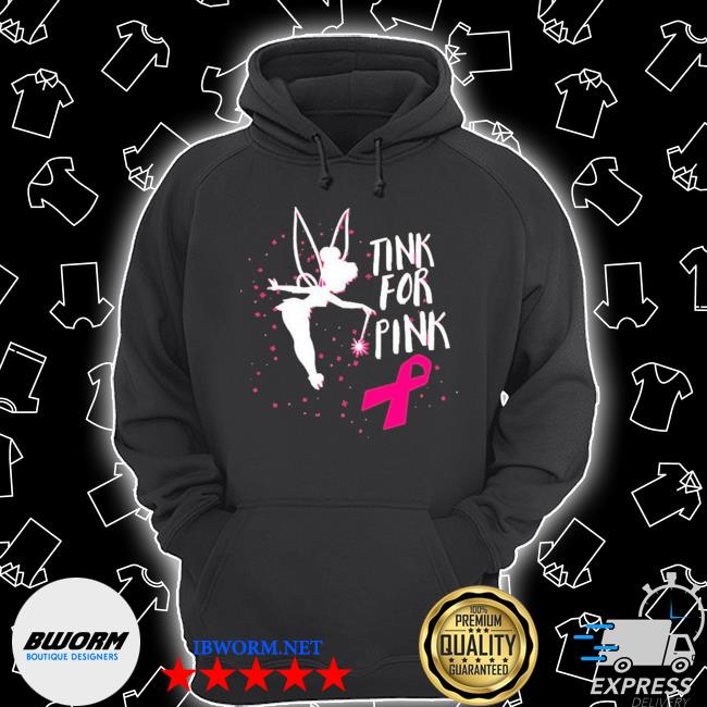 Tink for pink breast cancer awareness 2020 s Unisex Hoodie