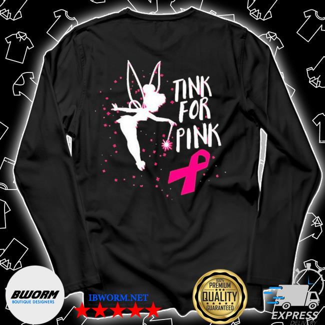 Tink for pink breast cancer awareness 2020 s Unisex Long Sleeve Tee
