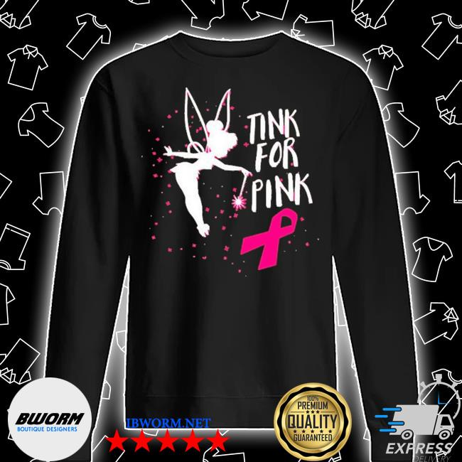 Tink for pink breast cancer awareness 2020 s Unisex Sweatshirt