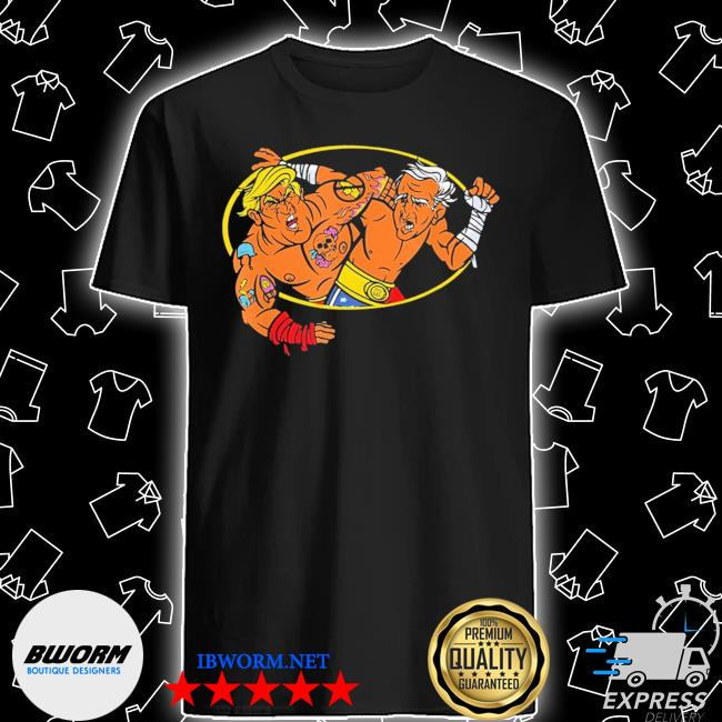 Trump vs biden debate combat 2020 wrestling shirt