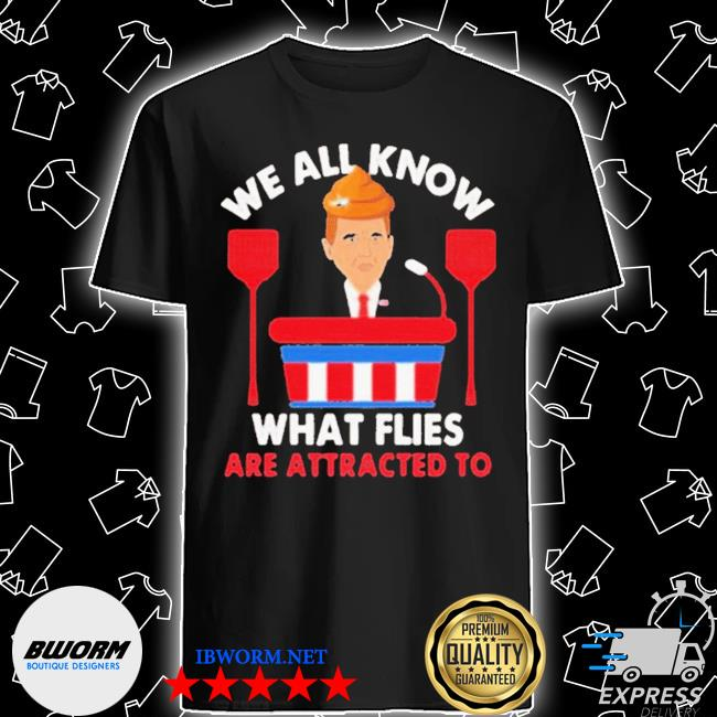 We all know what flies are attracted to funny pence 2020 vp debate shirt