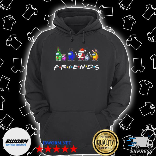 Official among us friends christmas s Unisex Hoodie