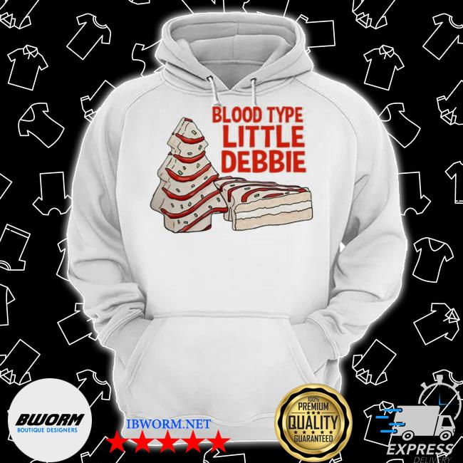 Official blood type little debbie s Classic Hoodie