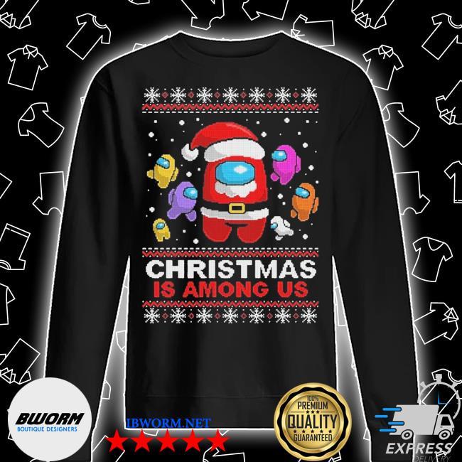 Official christmas is among us ugly s Unisex Sweatshirt