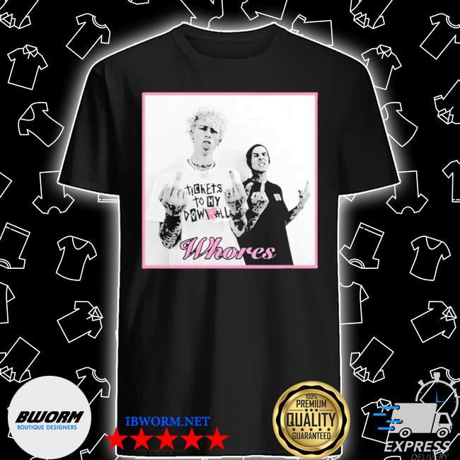 Official famous x whores shirt