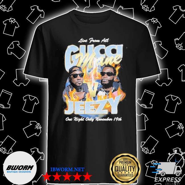 Official gucci mane verzuz jeezy shirt