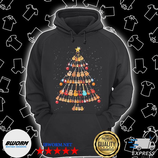 Official guitar christmas tree s Unisex Hoodie