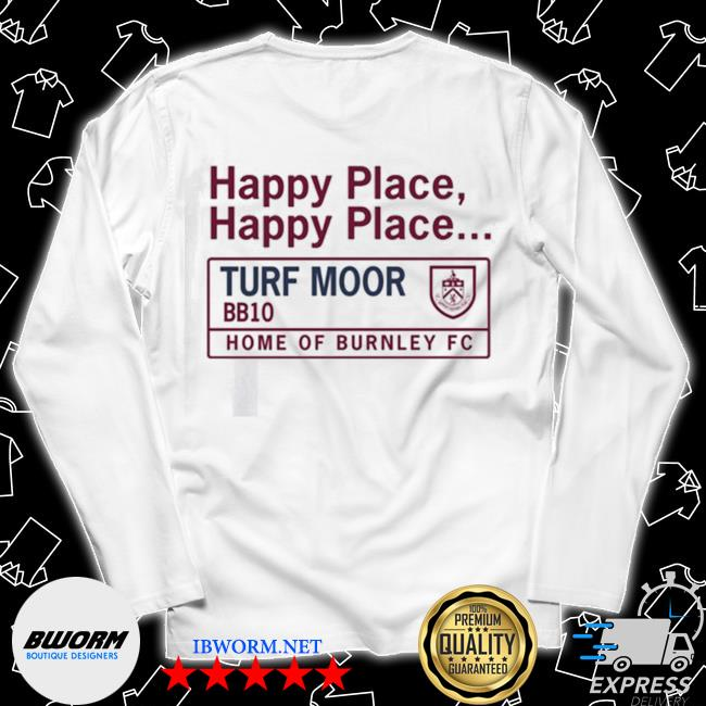 Official happy place turf moor s Long Sleeve Tee
