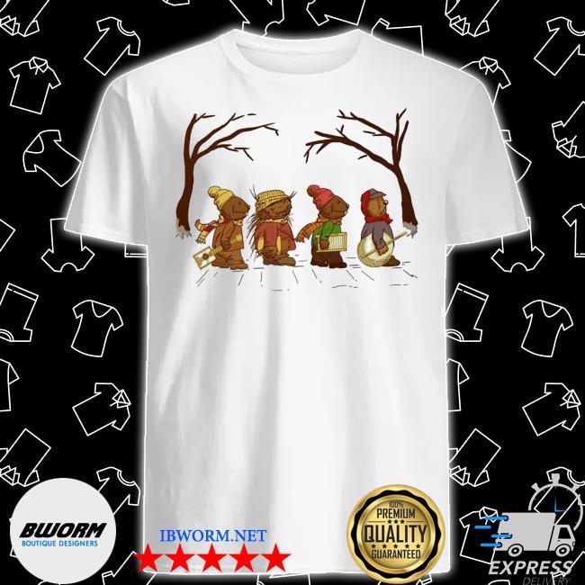 Official jug band road emmet otters jug-band christmas shirt