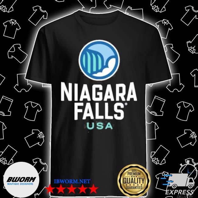 Official niagara falls heart usa pullover shirt
